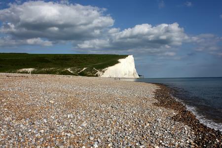 sussex: Cuckmere beach in East Sussex