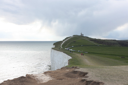 Lighthouse at Seven Sisters, East Sussex