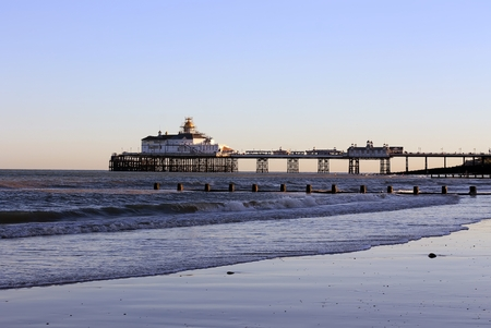 Eastbourne Pier, East Sussex Stock Photo