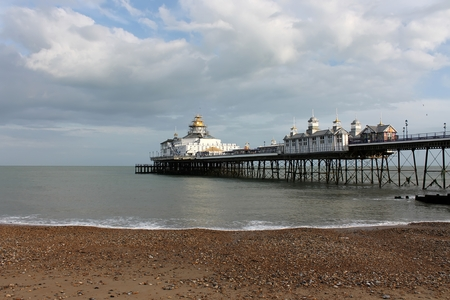 Day scene with Eastbourne Pier