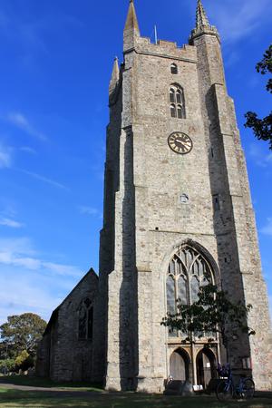 Saint Nicholas church from New Romney, Kent Stock Photo