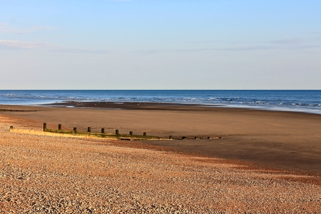 sussex: Camber Sands, East Sussex Stock Photo