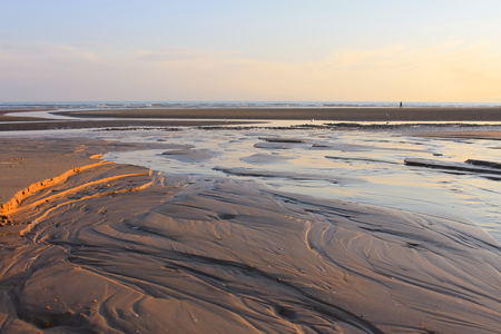 Beautiful scene from Camber Sands Stock Photo