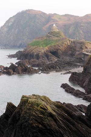 Scenery view over Ilfracombe, North Devon