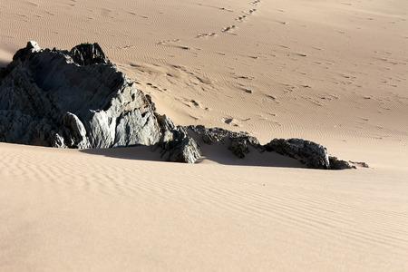 Sand dunes at Woolacombe, Devon Stock Photo