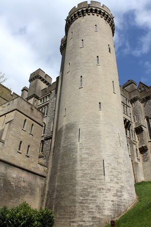 The tower at Arundel Castle, United Kingdom Editorial