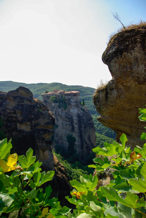 Meteora monasteries, Greece photo