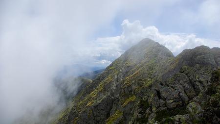 fagaras: Moldoveanu Peak, le montagne dei Carpazi, Fagaras, Romania