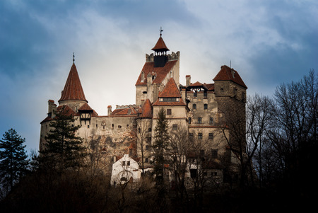 Bran Castle, Transylvania, Romania Editorial