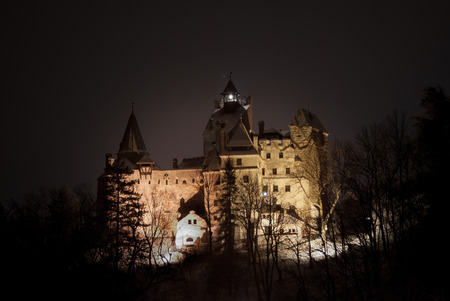 dracula: Bran Castle, Transylvania, Romania Editorial