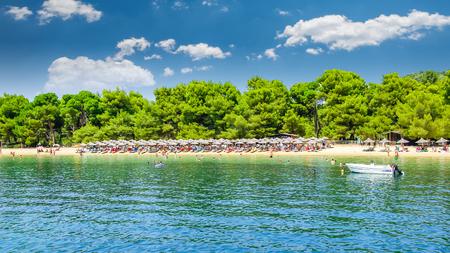 skiathos: Koukounaries Beach, Skiathos Island, Greece. It is one of the best Greek beaches.