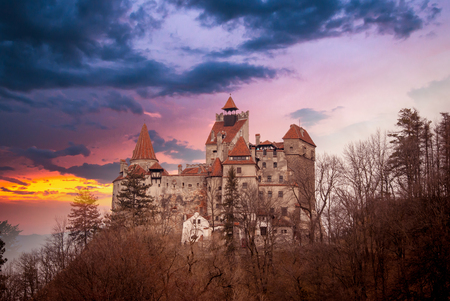Bran Castle, Transylvania, Romania, known as 스톡 콘텐츠