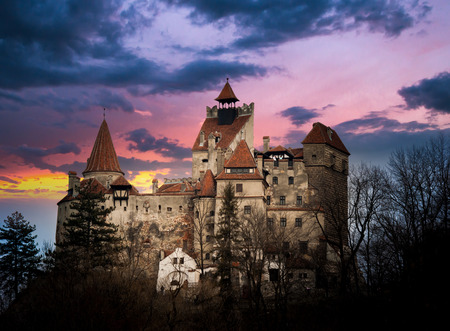 Bran Castle, Transylvania, Romania, known as 版權商用圖片