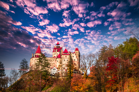 Bran Castle, Transylvania, Romania. A medieval building known as Castle of Dracula.