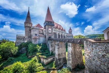Hunyad Castle was laid out in 1446. Castelul Huniazilor in Romania. Sajtókép