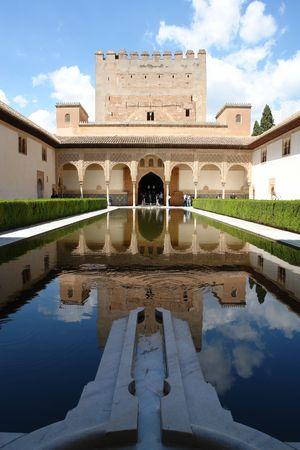 Al Hambra, Granada city in Spain