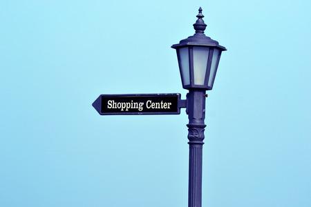 outdoor lighting: To shopping center