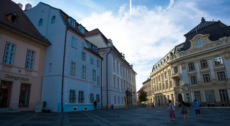 cityhall: Sibiu Cityhall and Brukenthal Museum
