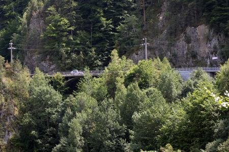 transfagarasan: Transfagarasan Route Stock Photo