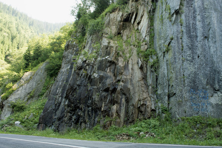 transfagarasan: Transfagarasan  Road Stock Photo