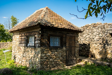 fortified: Cisnadioara fortified  church Stock Photo
