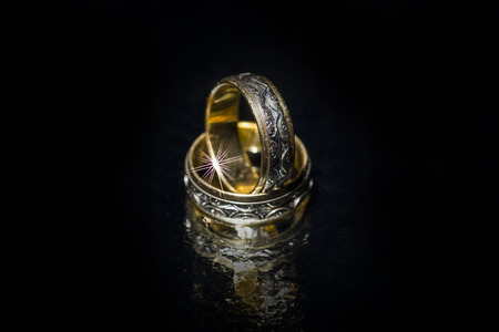 wedding rings: Wedding rings isolated