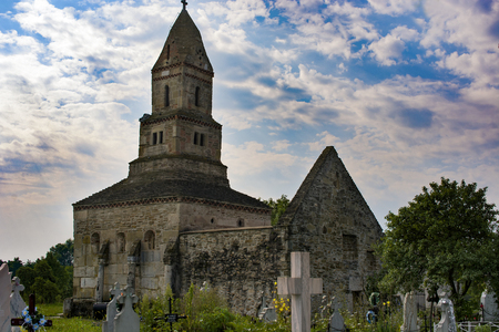 sacred trinity: Densus is one of the oldest church in Romania, built in VII century, rebuild in XVIII century with the stones from roman Sarmisegetuza