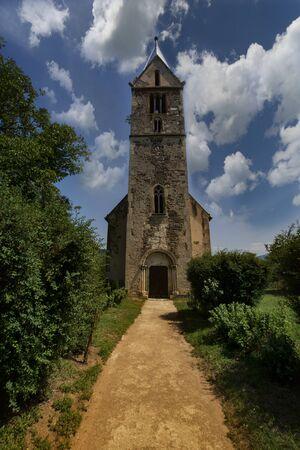 The Reformed-Calvinist Church Santamarie Orlea, Transylvania , Romania