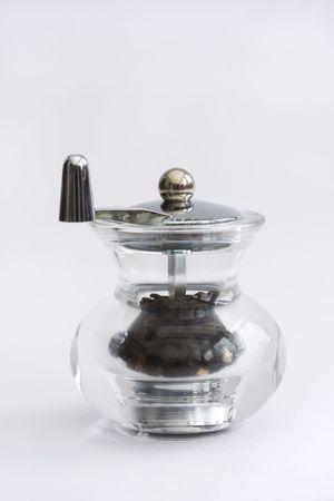 glass pepper grinder
