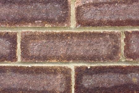 close up of a brick wall texture