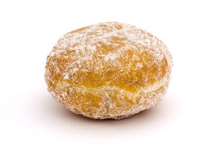 jam doughnut on a white background Stock Photo