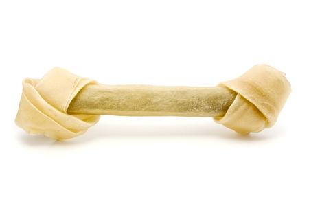 Dog bone isolated on white