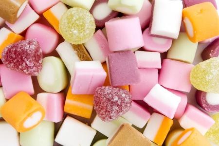 chorowity: Tło kolorowe słodycze Dolly mieszanki