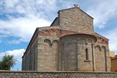 San Simplicio Church - Olbia Фото со стока