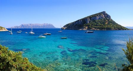 sardaigne: Sardaigne Golfo Aranci  Banque d'images