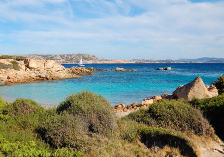 mediterraneo: Sea of La Maddalena Park - Italy Stock Photo
