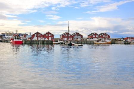 Bodo harbour Фото со стока