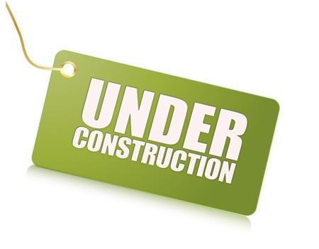 green under construction