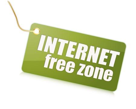 Internet free label
