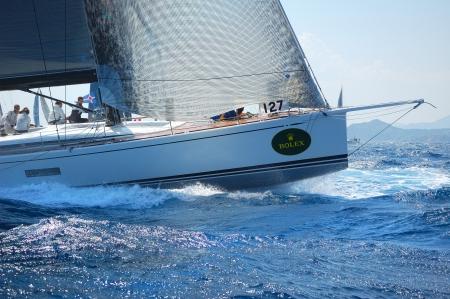 porto: PORTO CERVO: Rolex Swan Cup on September 12, 2012 in Porto Cervo, Italy