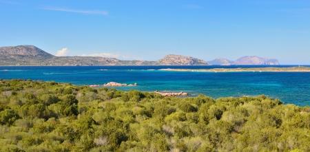 Sardinia landscape  Punta Don Diego  Фото со стока