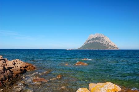 Tavolara Island  Фото со стока