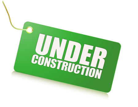 costruction: Under costruction sign