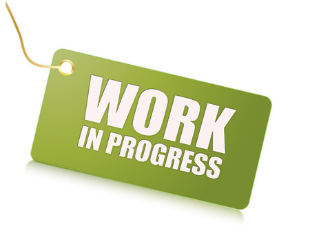 Work in progress Фото со стока