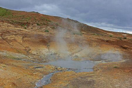 Seltun geothermal area in Krysuvik