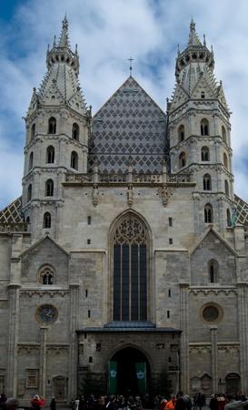 stephen: Saint Stephen church in central Vienna