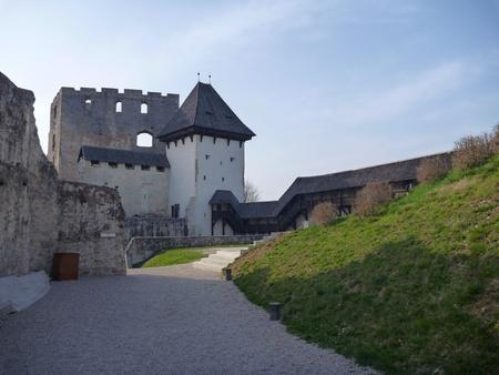 grad: old medieval castle Stari Grad in Celje in Slovenia
