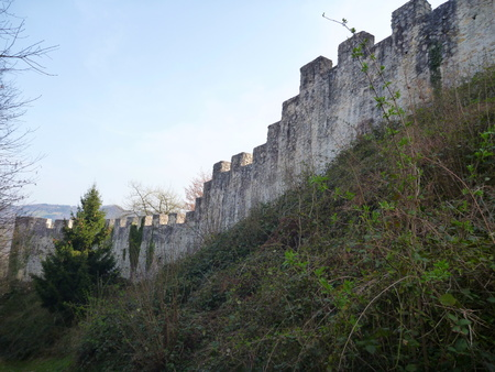 fortification: a fortification of medieval castle in Celje