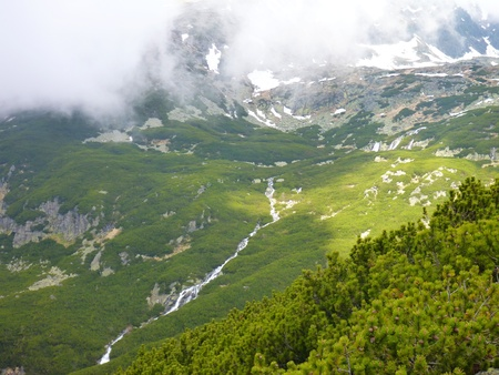 uprise: Tatry mountains in Slovakia in the spring time Stock Photo