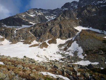 tatry: Tatry mountains in Slovakia in the spring time Stock Photo